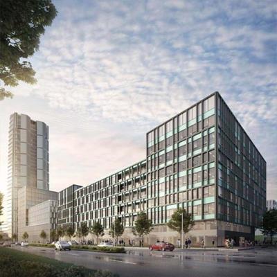 Jó ütemben halad a BudaPart legújabb irodaházának megvalósítása
