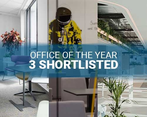 3 of our nominees have been shortlisted for the Office of the Year 2020 Awards.